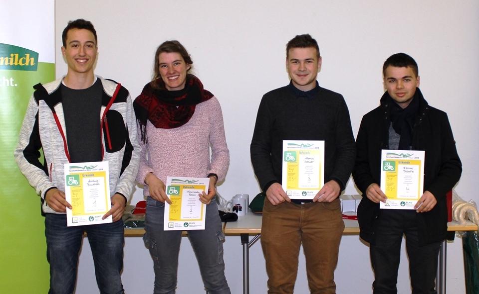 Vier kommen in die nächste Runde: Die Berufsschüler aus Emmendingen.