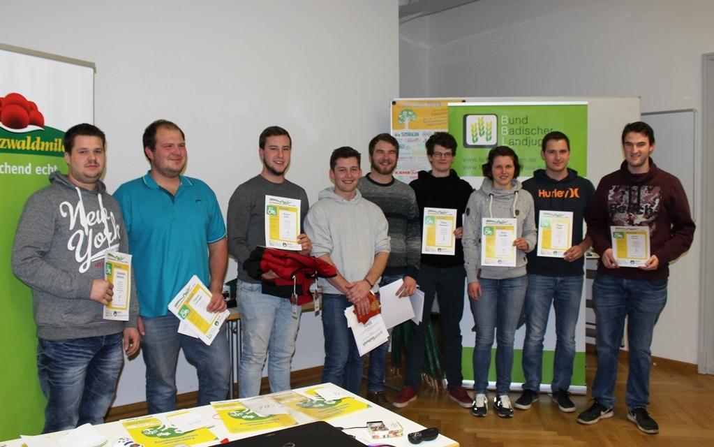 Die Fachschüler traten auch in Emmendingen in Teams an.